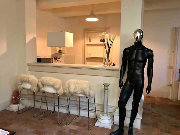 Esclusiva suite di 100 mq in Villa Palladiana