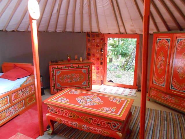 Une yourte mongole en Cévennes - Khemah Yurt