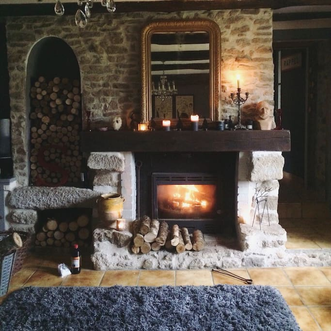 Cosy up in front of the wood burner - Winter nights