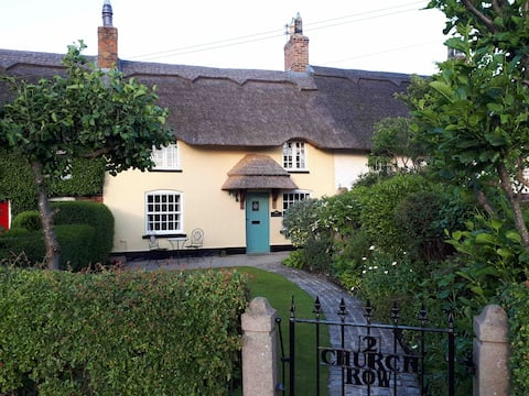 A beautiful thatched cottage