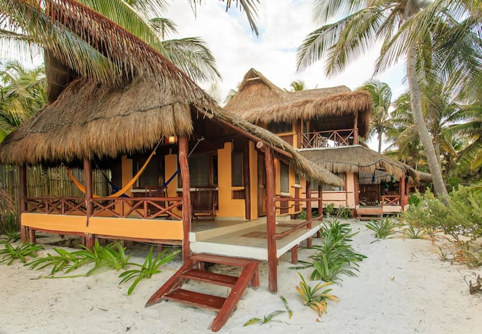 Premier Double  Beachfront with Terrace & Hammock