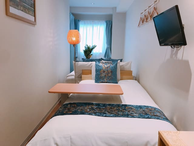 Close to GINZA & 2 bed rooms for 3 people #704