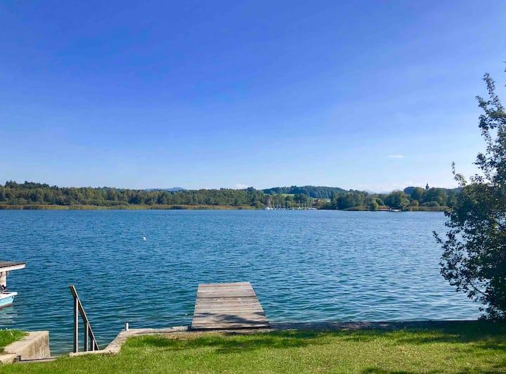 Hike, Bike, Relax! Gemütliche Wohnung am See