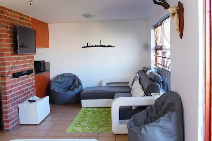 Trendy loft apartment in the heart of Midrand