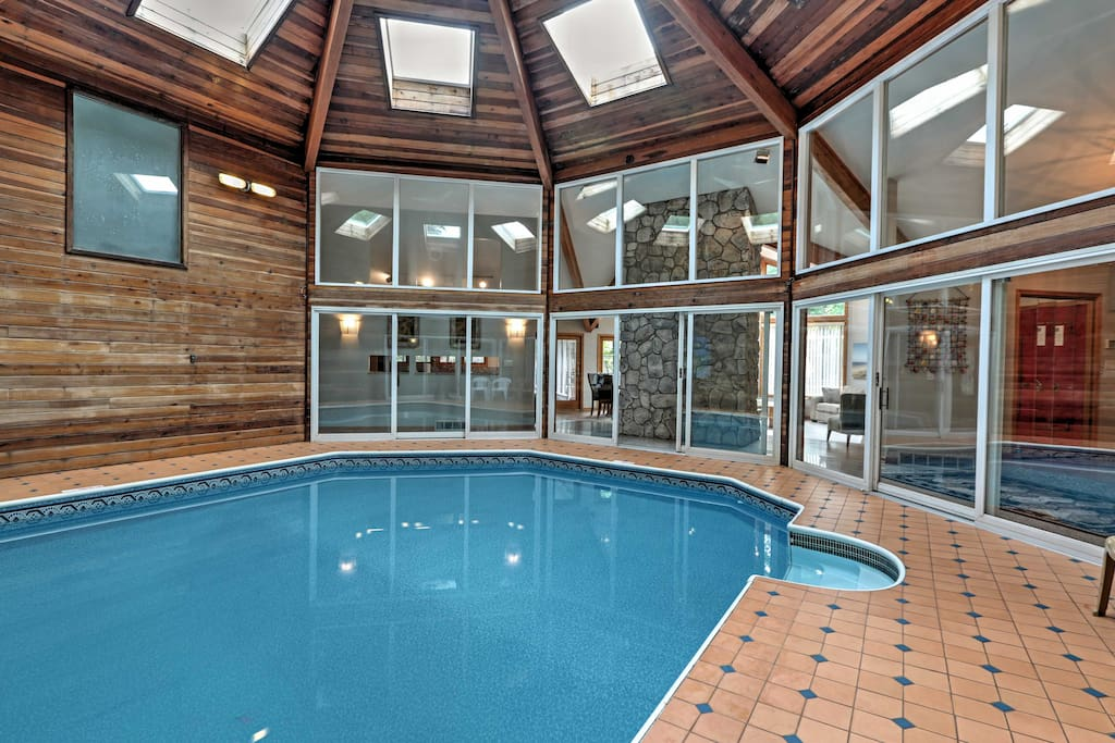 New Asolare 4br Union Pier House W Indoor Pool Houses For Rent In Union Pier Michigan