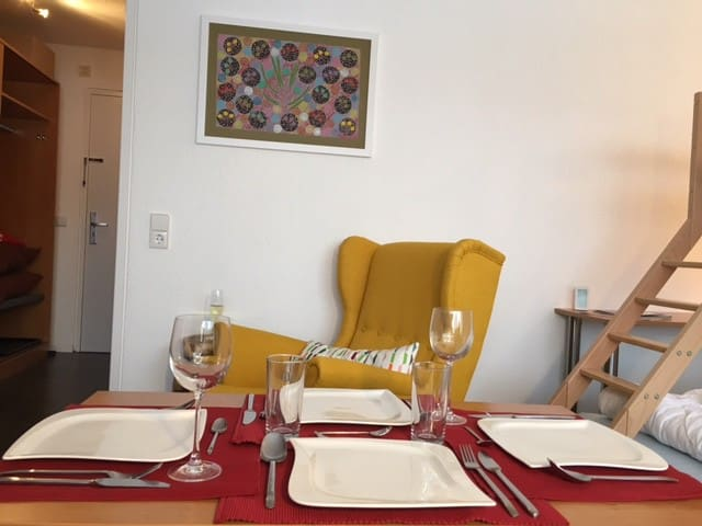 Holiday Apartment Walkabout - Seewald - Mobilyalı daire