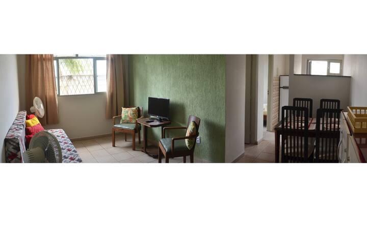 Apartamento completo em condomínio fechado