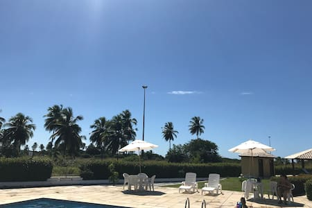 Flat no Condomínio Gavôa, praia, Pe. 104