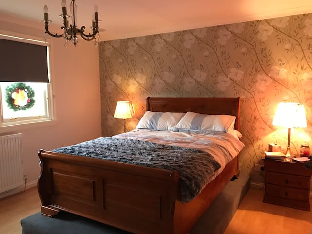 Private double room cosy and comfortable