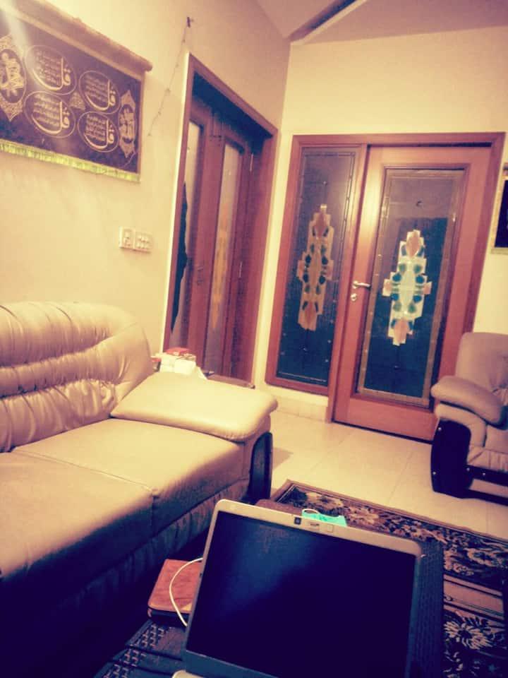 Sadakat bhai,s Luxrious Living DHA