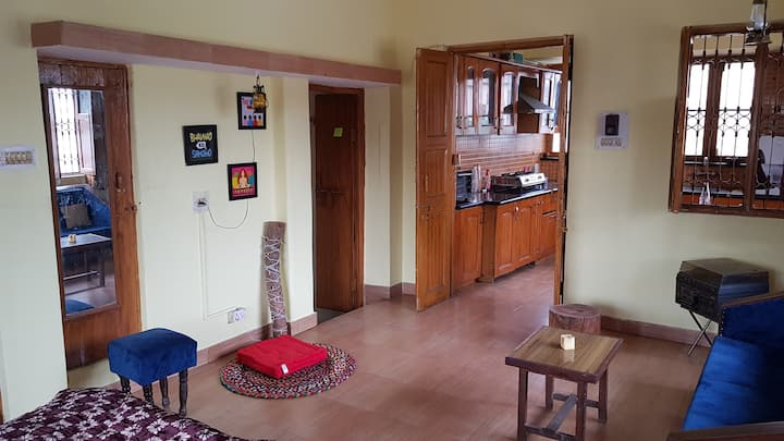 Studio apartment with terrace - Himalay Homestays