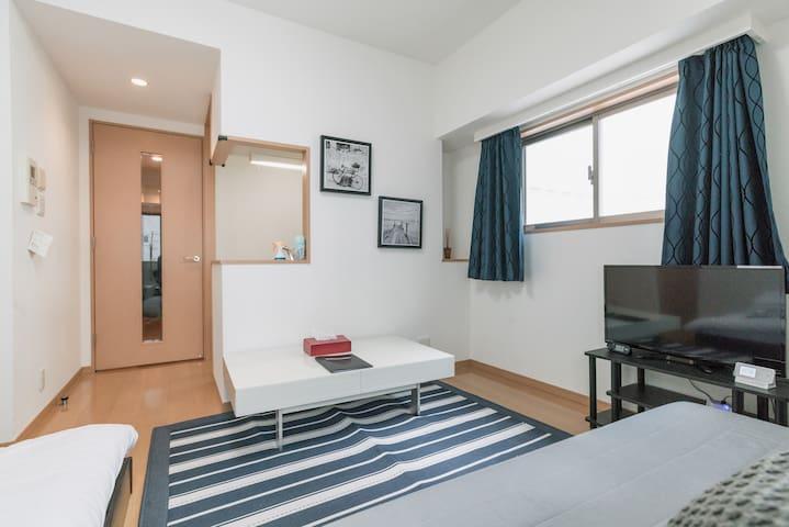 3 MIN UENO/Beautiful room/Asakusa/4MAX