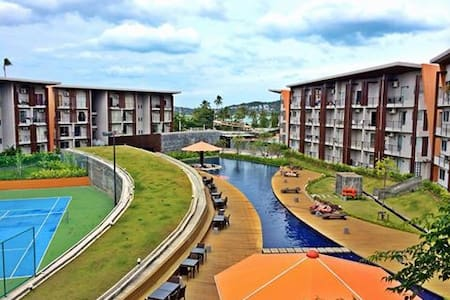 Sea & pool view condo, opposite to the beach! - Ko Samui - Condominium