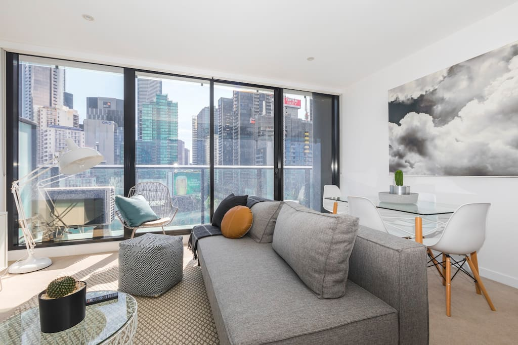 City views from the living room<br><br>