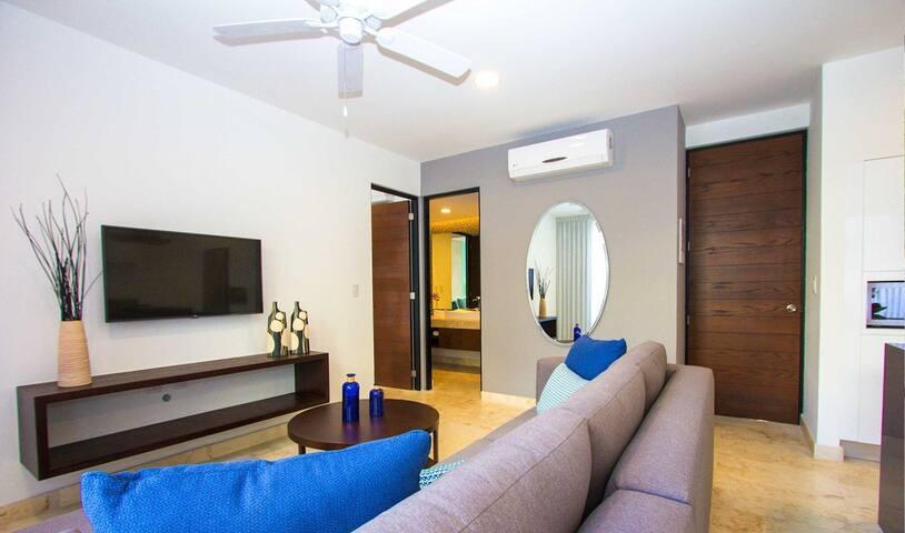 NUEVO!! A-NAH DOWNTOWN,la mejor ubicacion en PLAYA - Playa del Carmen - Appartement