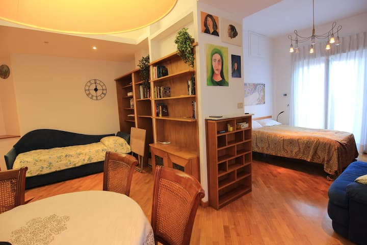 Elegante appartamento rifinito in legno al Fleming