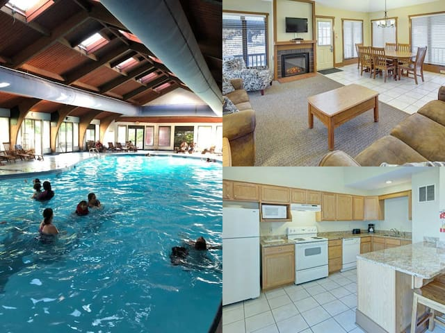 Pocono 2 Bed~Close To Skiing~TONS of AMENITIES