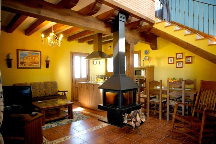 Casa Rural A Toca. I. para 2 en Turégano ( Segovia