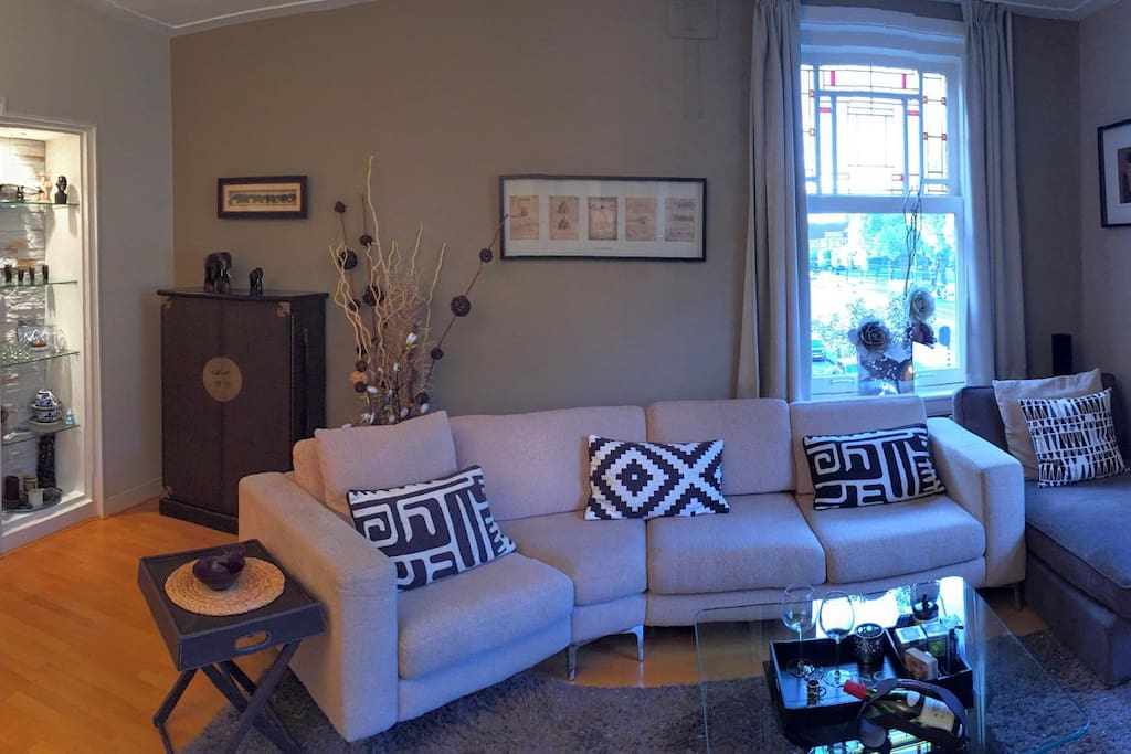 Living Room - Panoramic view giving you a better feeling of the space