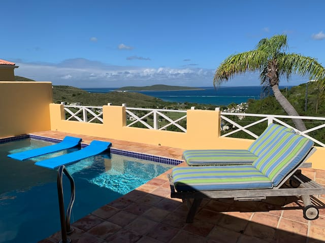 Limetree Villa, Big Ocean View Private HEATED Pool