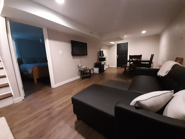 Spacious West Asheville suite near Haywood Ave