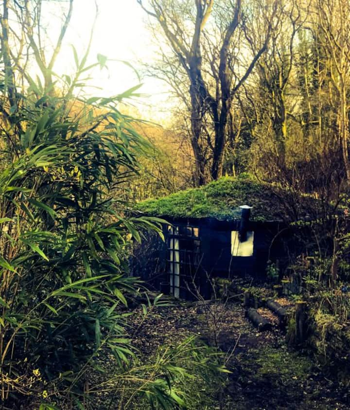 Faun Lodge, Hebden Bridge, eco-built earth house
