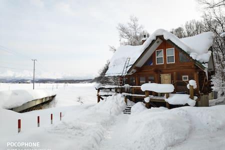 Log cabin FOR SKI&SNOWBOARDER(for 4-6 people)