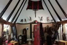 Das Innenleben vom Batakhaus