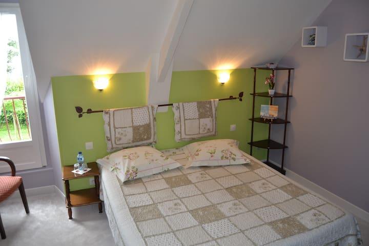 chambre  tout confort dans la baie du Mt St Michel - Hirel - Pensió