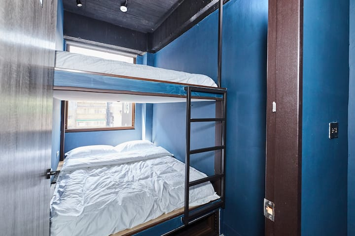 B13/BUNK BED FOR 4/24HR SELF CHECK-IN/METRO NEARBY