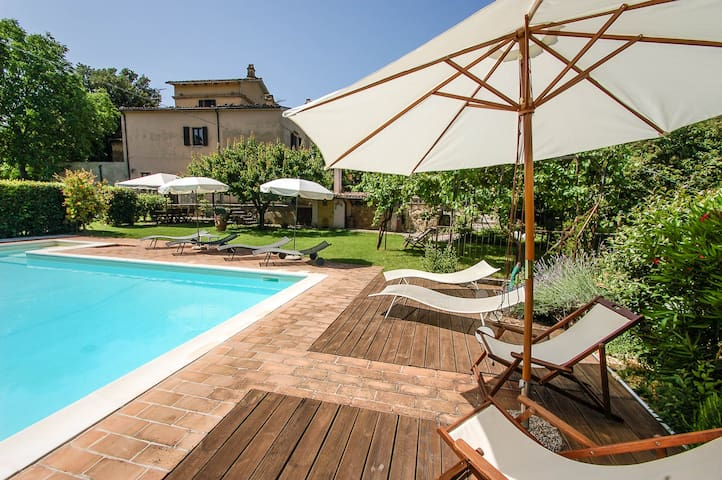 Casale Portaria, detached house with private pool - Acquasparta - House