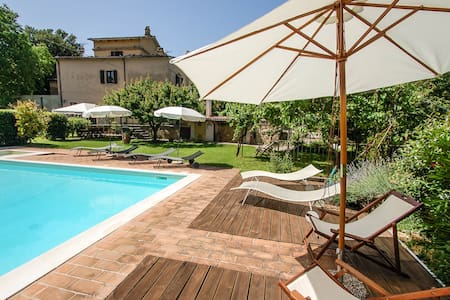 Casale Portaria, detached house with private pool - Acquasparta - Дом