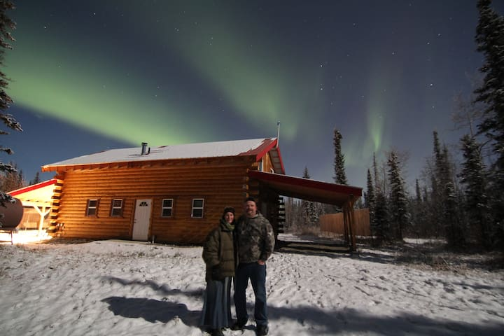 Alaska Aurora Adventures Cabin A - North Pole - Allotjament sostenible a la natura