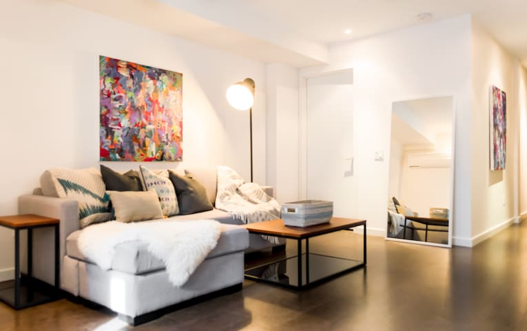 NEW, pristine, modern suite in Little Italy
