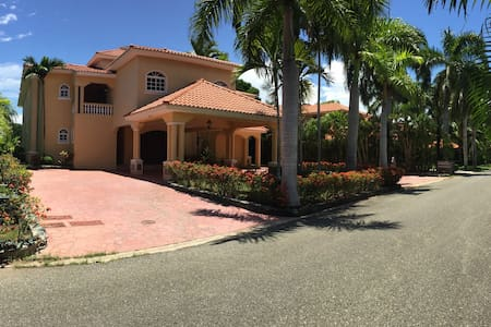 Spectacular Golf View Mansion - Juan Dolio - Villa