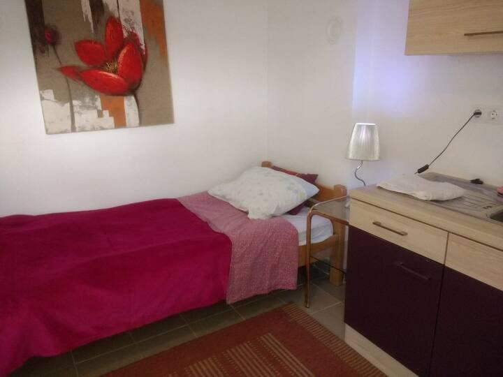Studio apartman za jednu osobu
