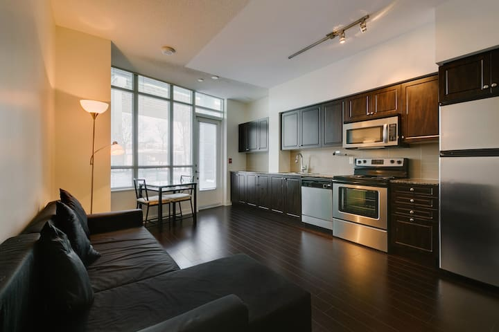 Spacious Downtown Toronto Suite w Private Entrance