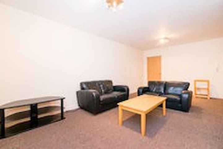 Modern and spacious flat with car park,2 toilets - Manchester - Leilighet