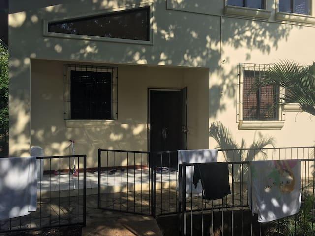 westside facing back of house