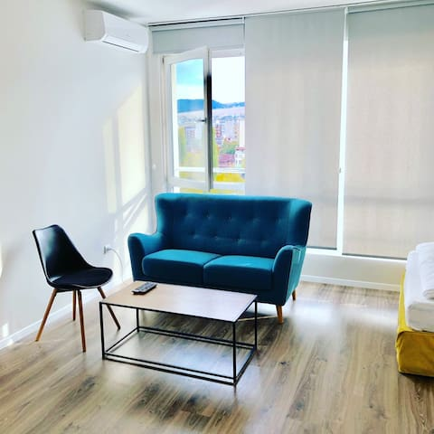 Brand New Modern Private Studio Unit-GreenApart