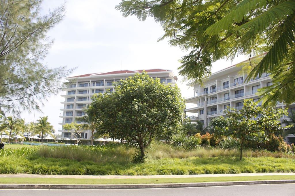 Ocean Hotel opposite My Villa