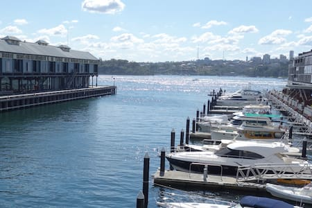 Luxury waterfront apartment in perfect location - Dawes Point