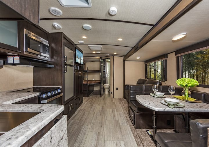Luxury RV with a great location!