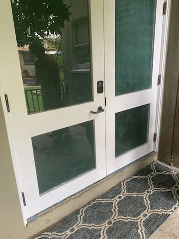 Your private keyless entrance!