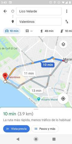 La casa en Mazatlán (no pacientes)