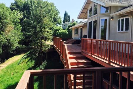 Big 1BR (254sqf) w/Bath, huge Silicon Valley home - Los Altos
