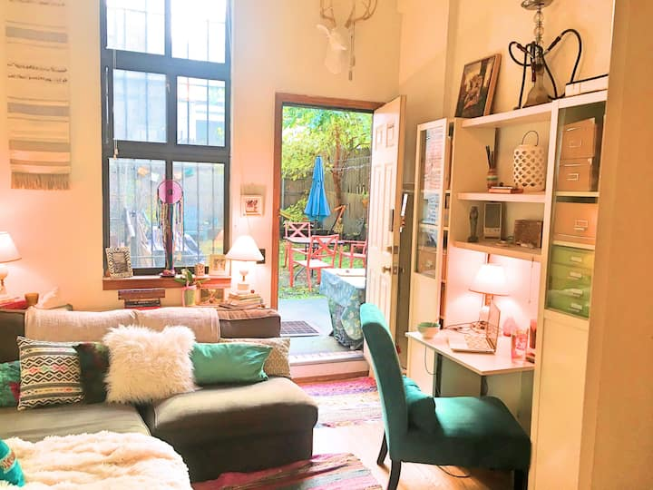 *Extremely Rare* Private Midtown Garden Oasis Loft