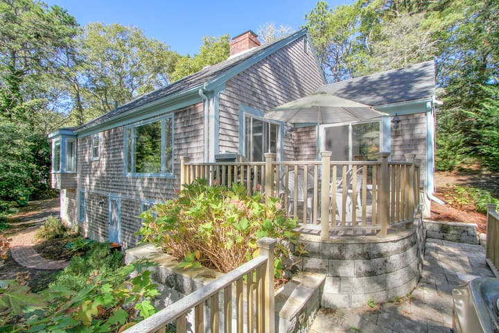 Wooded Chatham Home on the Monomoy