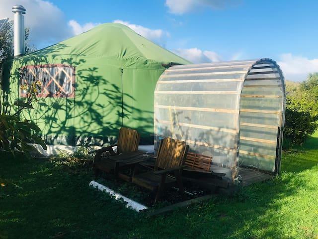 Yurt on Park Ave