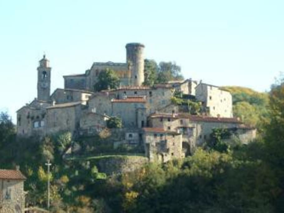 The Town of Bagnone